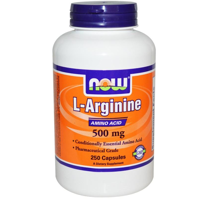 NOW L-Arginine 500mg
