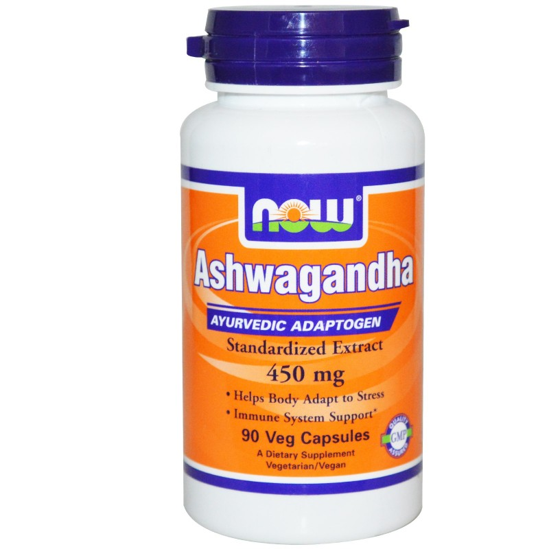 Now Ashwagandha Extract 450 mg - 90 Vcaps
