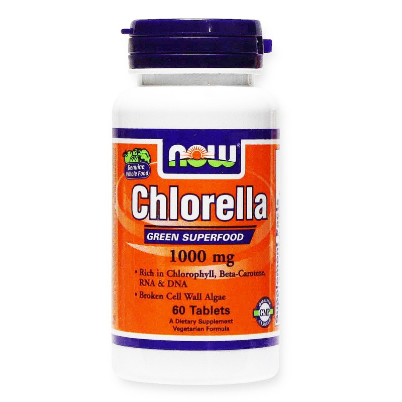 Now Chlorella 1000 mg