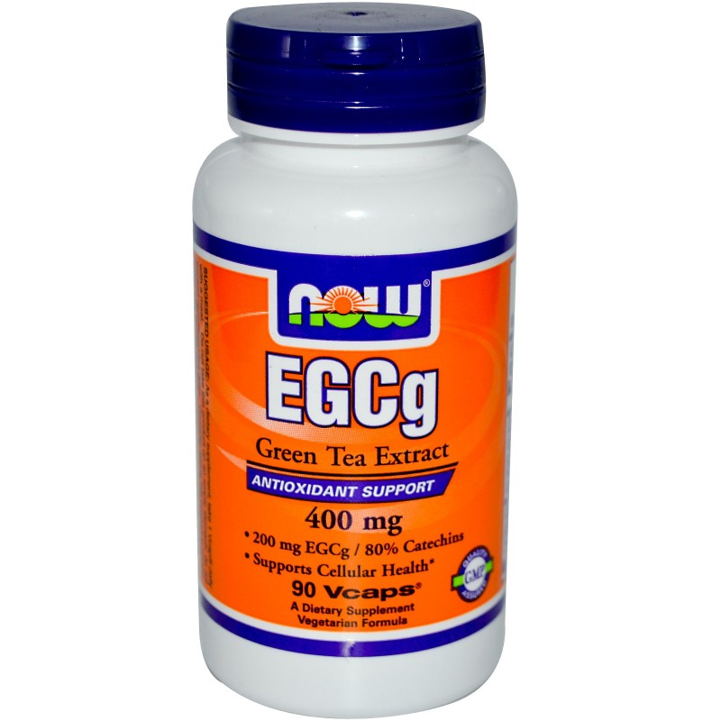 Now EGCg Green Tea Extract 400 mg - 90 VCaps