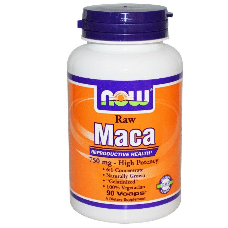 Now maca 750mg