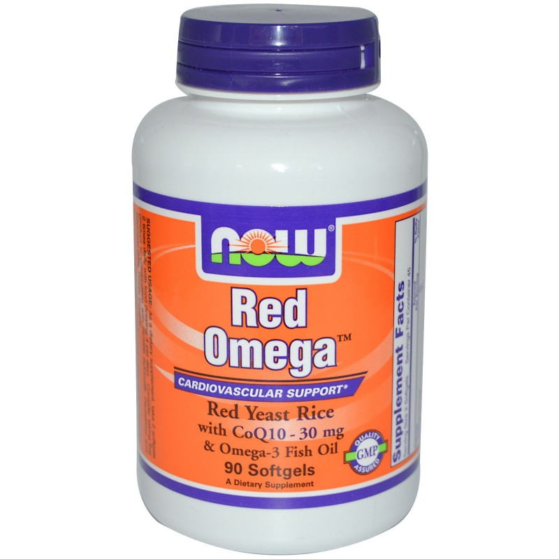 Now Red Omega™ 90 softgels